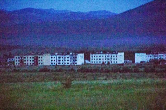 Тенькинская трасса Заброшенный поселок