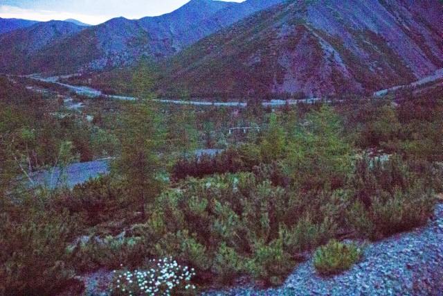 Тенькинская трасса Перевал Кулу