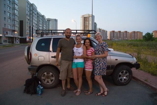 В Кемерово у родственников
