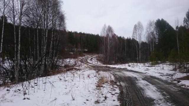 Дорога с Баштау