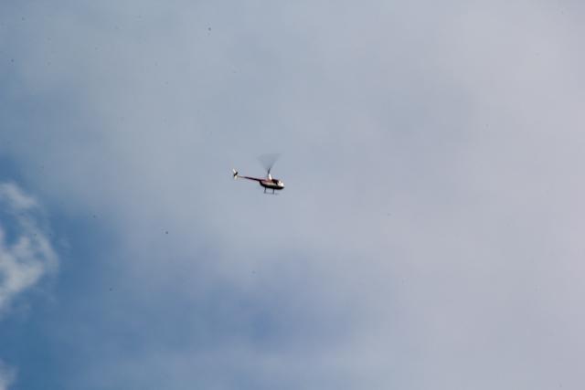 Вертолет с Малого Иремеля