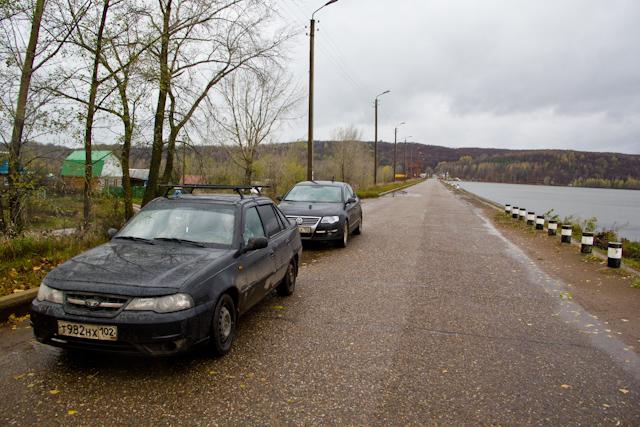 Кармановское водохранилище Плотина