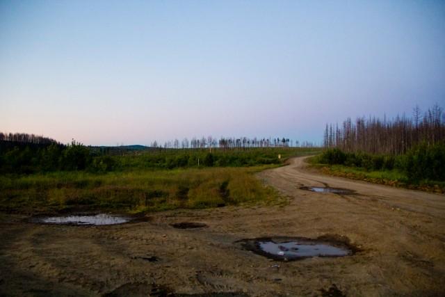 Дорога Вижай