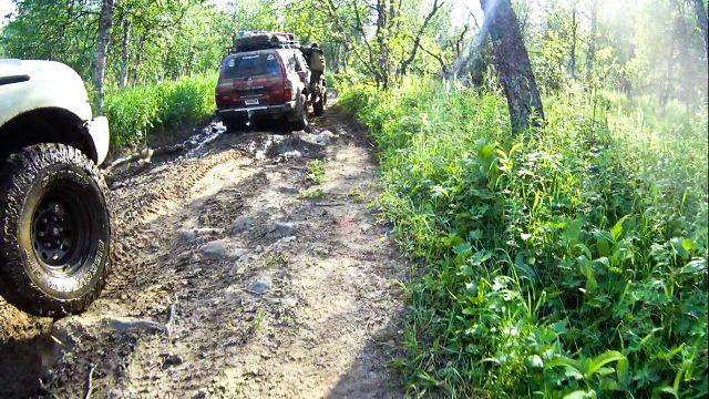 Дорога Вижай - перевал Дятлова