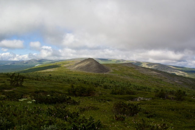 Стена - плато Маньпупунер