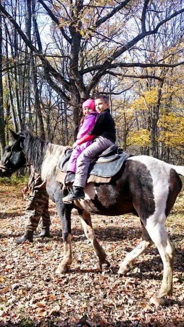 Катание на лошадях в Национальном парке Башкирия