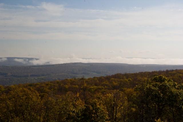 Вид с горы Таллы