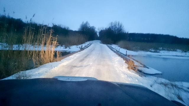 Дорога  Должик - Средне-Воскресенское