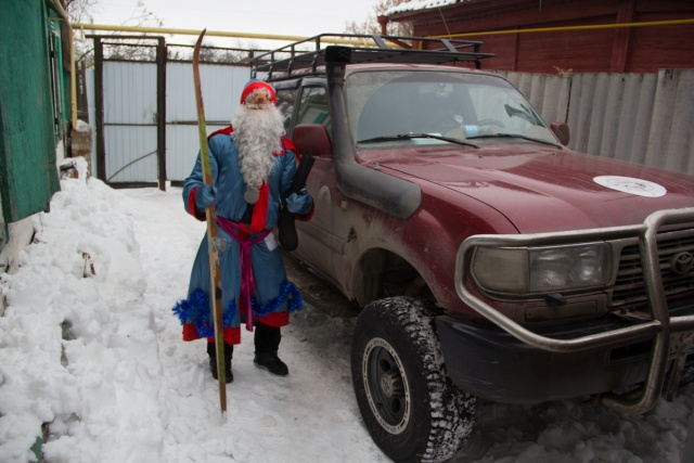 Дед Мороз в Бутурлиновке