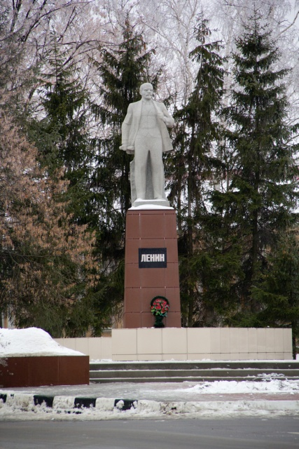 Памятник Ленину в Бутурлиновке