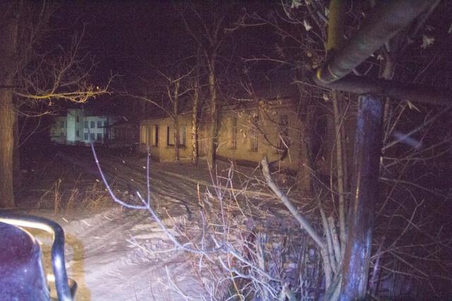 Заброшенные здания Костенки