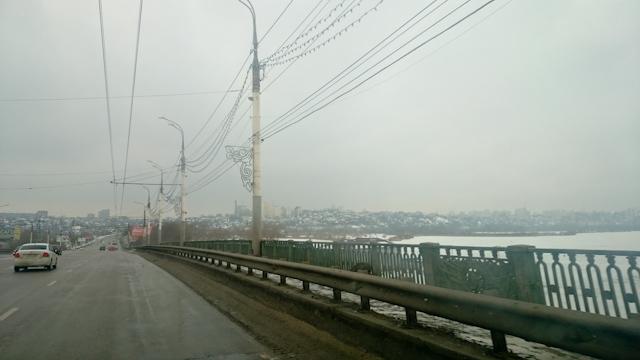 Мост через Воронежское водохранилище