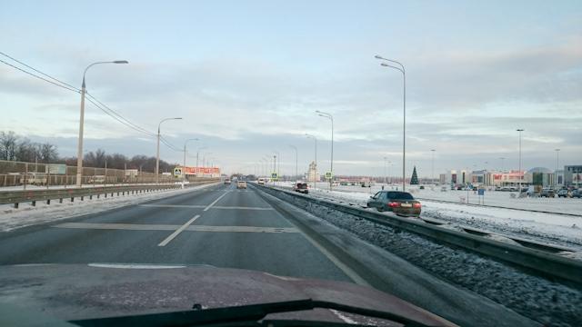 Выезд из Воронежа