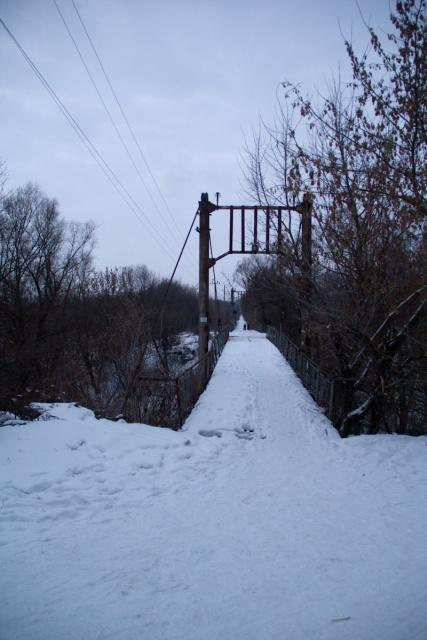 Мост через реку Девица