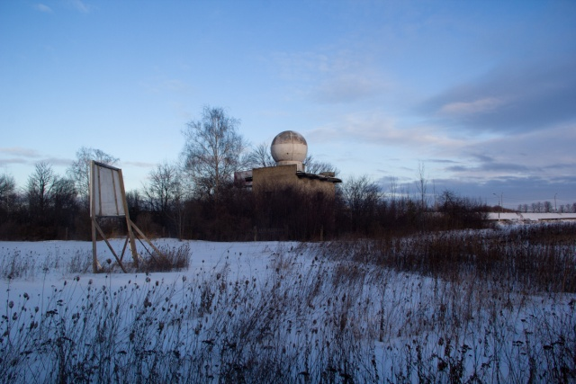Заброшенная метеорологическая станция
