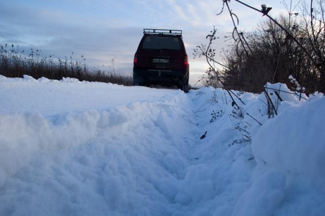 ТЛК80 на снегу