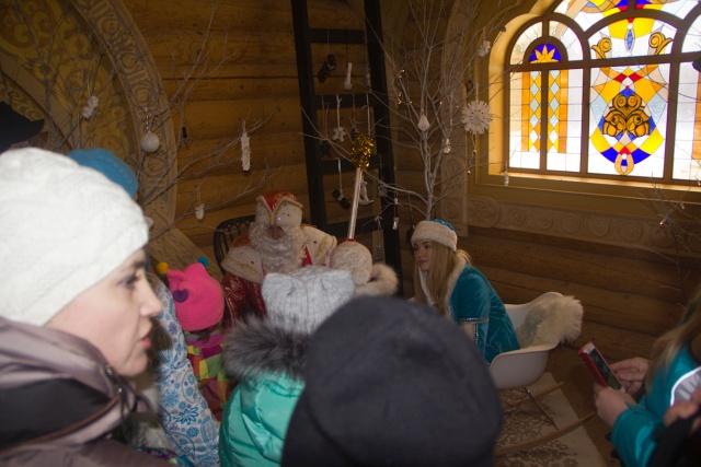 Дед Мороз и Снегурочка Кудыкина гора
