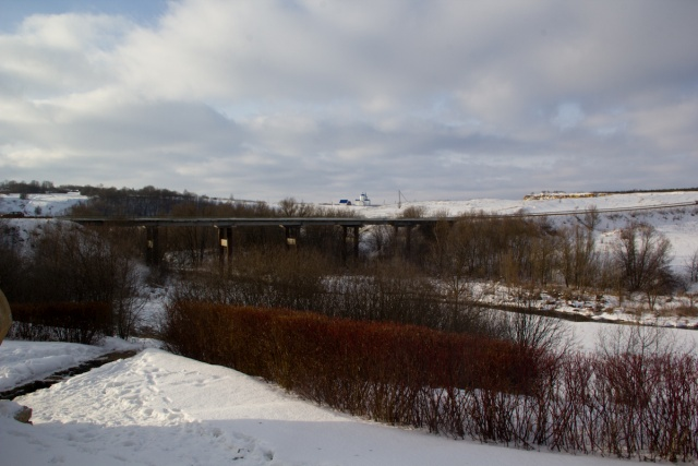 Мост через реку Каменка