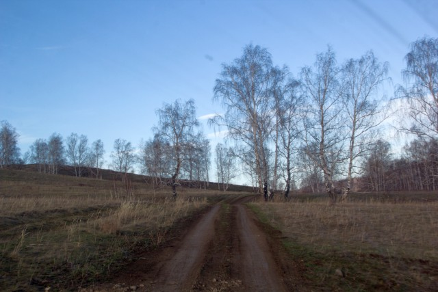 Дорога к Узункуль