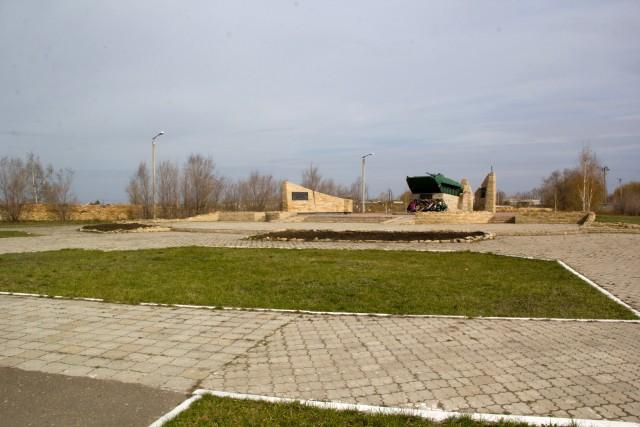 Памятник БМП-1 Троицк