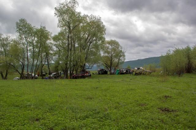 Лагерь на Привольной поляне