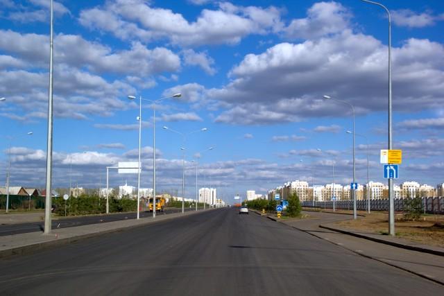 Проспект Улы Дала Астана