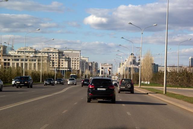 Триумфальная арка Астана