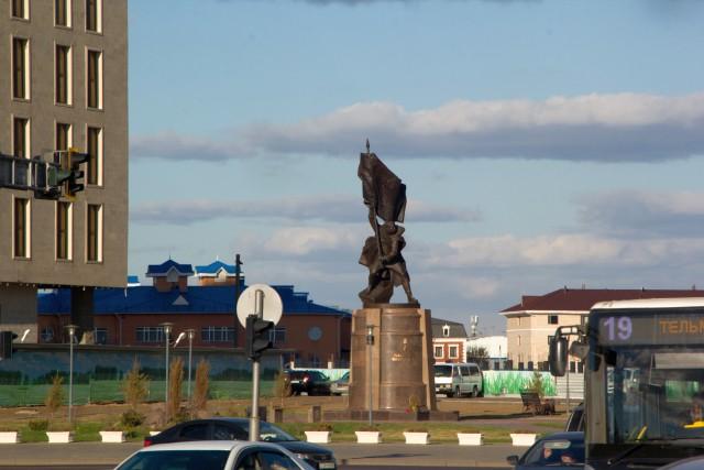 Памятник Рахимжану Кошкарбаеву