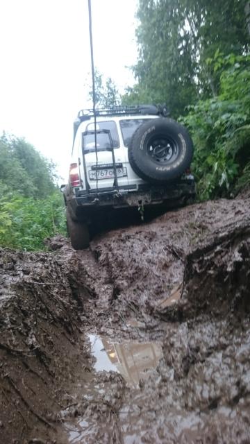 ТЛК80 в болоте