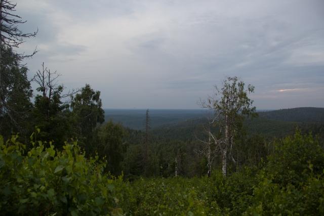 Вершина горы Ак-Тюбе
