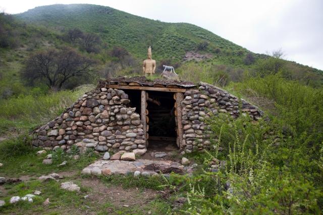 Гробница Тургеньское ущелье
