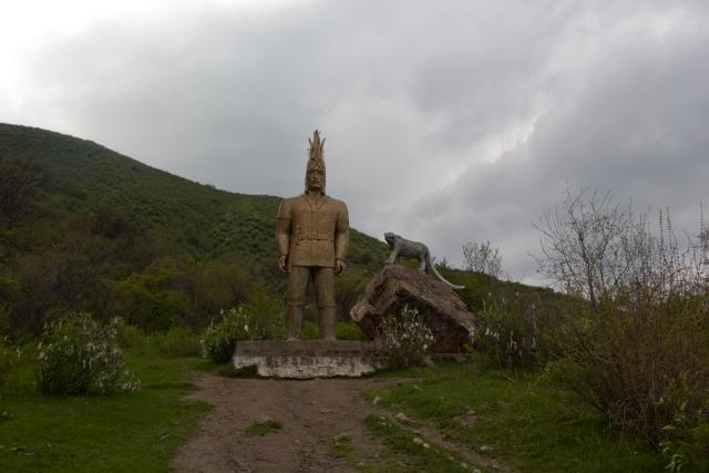 Золотой человек Тургеньское ущелье