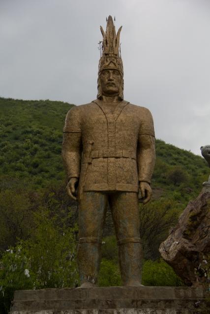 Алтын Адам Тургеньское ущелье