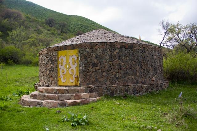 Сакское жилище Тургеньское ущелье