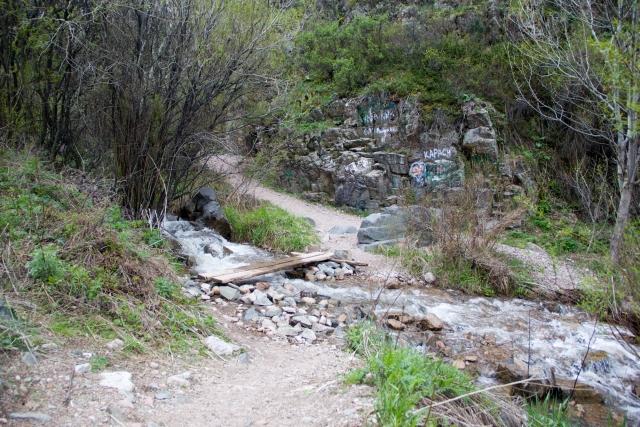 Тропа к Медвежьему водопаду