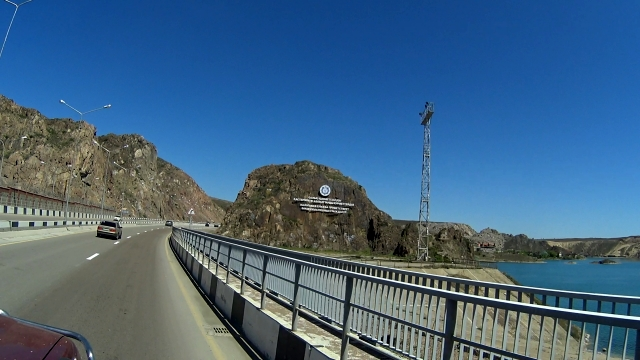 Плотина Капчагайской ГЭС