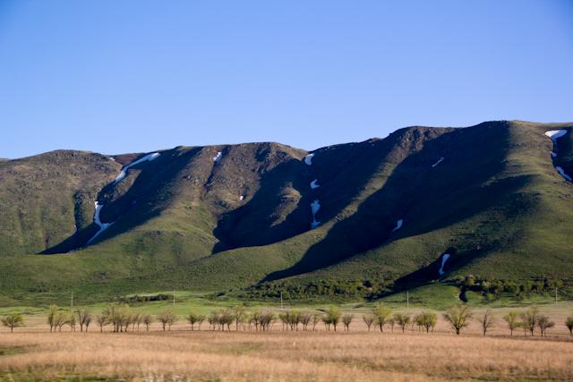 Горы Джунгарского Алатау