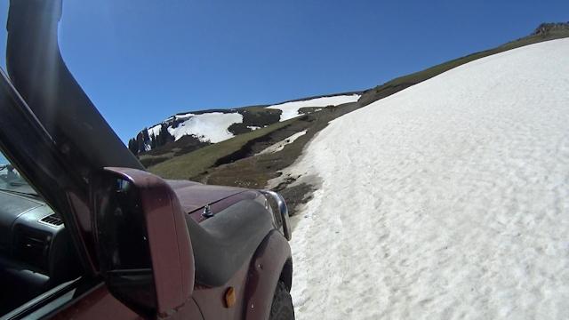 Снег на Капальском извозе