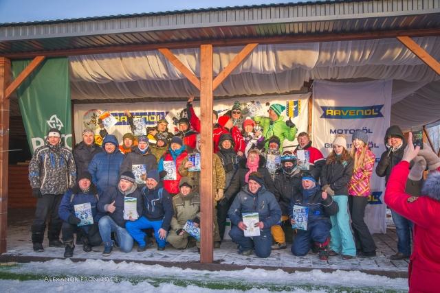 Победители Дистанции Снегоходов