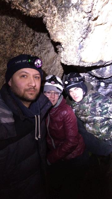 В пещере Теплая