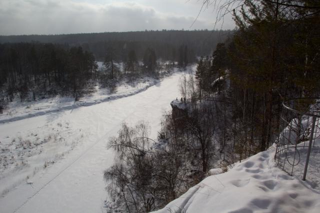 Оленьи ручьи вид со скалы Светлая