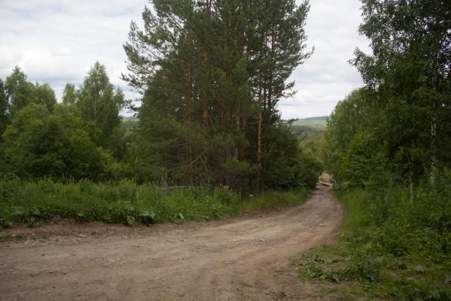 Дорога с Шатака